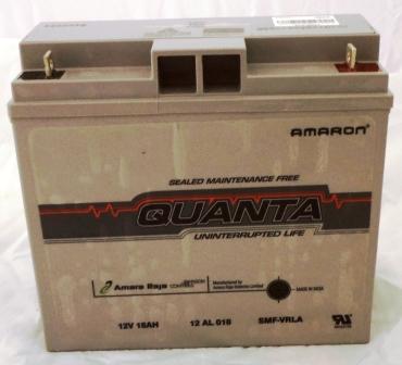 Amaron Quanta SMF VRLA 12v 18ah Battery